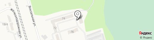 Строящийся объект на карте Винзилей