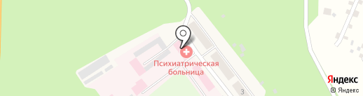 Областная клиническая психиатрическая больница на карте Винзилей