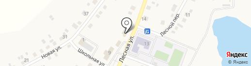 Андреевский на карте Андреевского