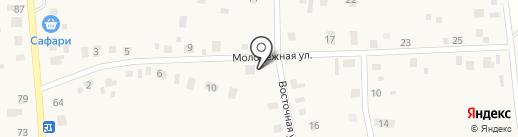 Азалия на карте Андреевского