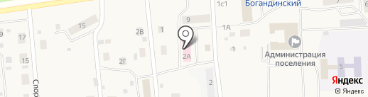 Поликлиника на карте Богандинского