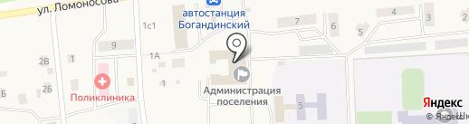 Администрация Богандинского муниципального образования на карте Богандинского