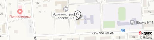 Коммунальщик на карте Богандинского