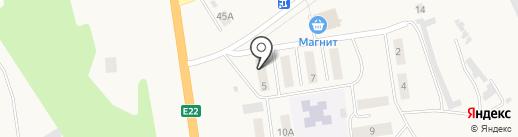 Диана на карте Богандинского