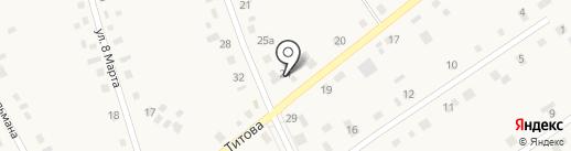 Лиана на карте Богандинского