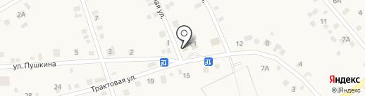 Лидия на карте Богандинского