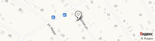 Вилижанка на карте Каскары