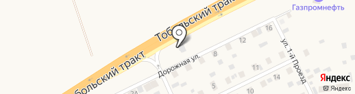 Автокомплекс на карте Каскары