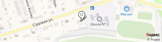 ТорТини на карте Каскары