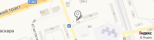 Валентина на карте Каскары