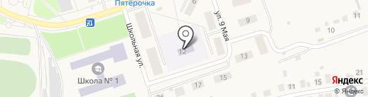 Золотой петушок на карте Каскары
