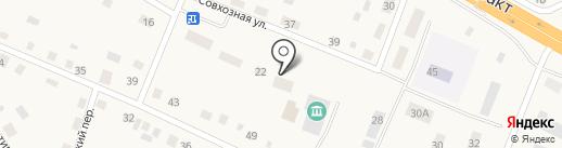 Администрация Борковского муниципального образования на карте Борок