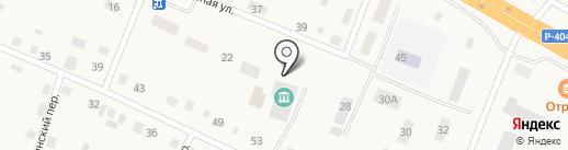 Борковская сельская библиотека на карте Борок