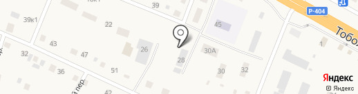 Гастроном на карте Борок