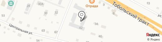 Средняя общеобразовательная школа на карте Борок