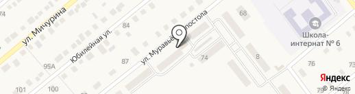 Алекса на карте Ялуторовска