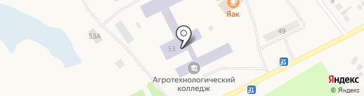 Ялуторовский аграрный колледж на карте Ялуторовска