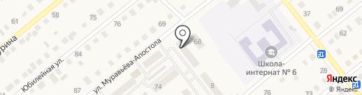 Почтовое отделение №6 на карте Ялуторовска