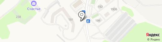 Сеть продуктовых магазинов на карте Ялуторовска