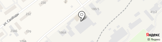 Аптечный пункт на карте Ялуторовска