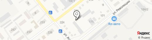Всероссийское добровольное пожарное общество на карте Ялуторовска