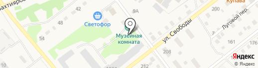 Ламифор-Тюмень на карте Ялуторовска