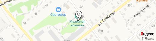 Интеди на карте Ялуторовска
