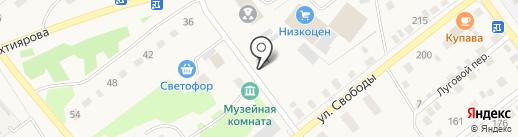 Кирпичъ на карте Ялуторовска