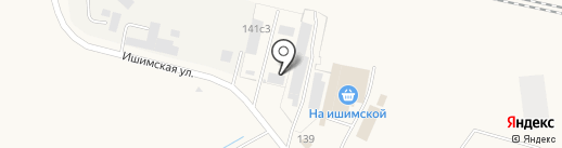 Ялуторовская кровельная компания на карте Ялуторовска