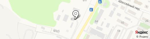 Участковый пункт полиции №10 на карте Ялуторовска