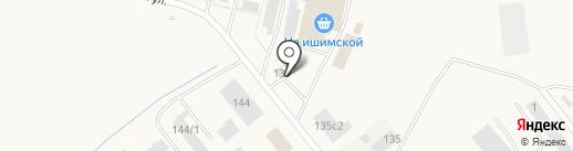 ГОСТинец на карте Ялуторовска
