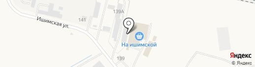 Магазин рыбы и морепродуктов на карте Ялуторовска