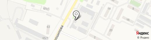 Ялуторовскагропромэнерго на карте Ялуторовска
