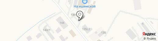Центр авторазбора на карте Ялуторовска