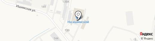 Магазин хозяйственных товаров на карте Ялуторовска