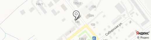 Феникс на карте Ялуторовска