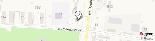 Бастион на карте Ялуторовска