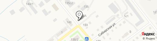 Интеграл на карте Ялуторовска