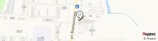 Половик на карте Ялуторовска