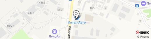 Компания по подбору автоэмалей на карте Ялуторовска