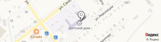 Детский сад №8 на карте Ялуторовска