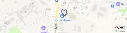 Жигули на карте Ялуторовска