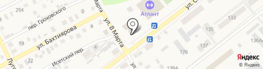 Ялуторовская специальная библиотека для слепых на карте Ялуторовска