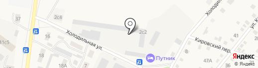 Оптово-розничный склад на карте Ялуторовска