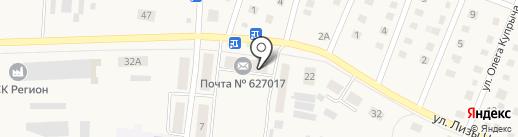 Почтовое отделение №7 на карте Ялуторовска