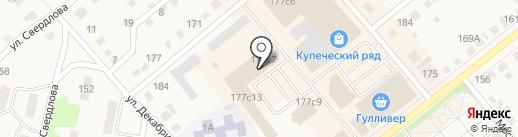 Магазин ритуальных принадлежностей на карте Ялуторовска