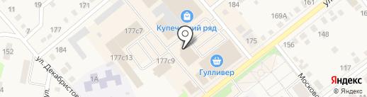 Багира на карте Ялуторовска