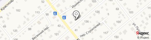 Нимак на карте Ялуторовска