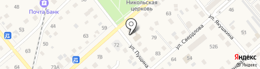 Витос на карте Ялуторовска