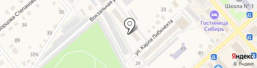 Центр занятости населения на карте Ялуторовска